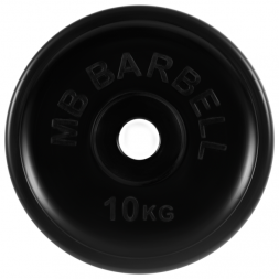 Диск обрезиненный евро-классик 10 кг Barbell MB-PltBE-10