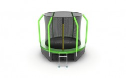 Батут Evo Jump Cosmo 8ft (Green) + нижняя сеть