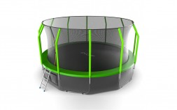 Батут EVO Jump Cosmo 16ft (Green) + нижняя сеть