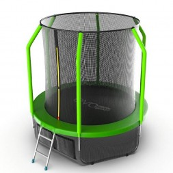Батут EVO Jump Cosmo 6ft (Green) + нижняя сеть